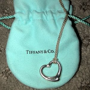 Tiffany & Co. Jewelry - Tiffany & Co, Elsa Peretti, Open ❤️ Necklace w/ 💎